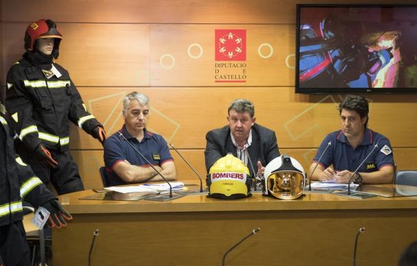 La Diputación destina 450.000€ para renovar los equipos de protección del Consorcio de Bomberos