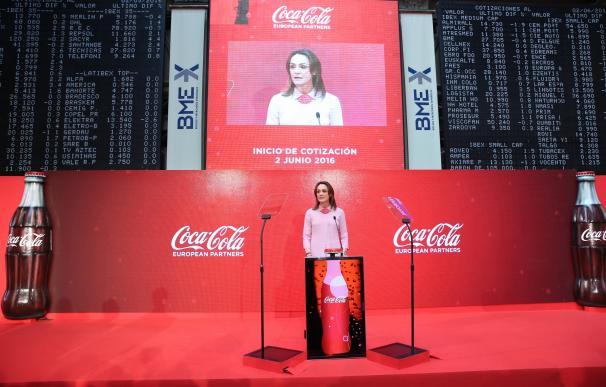 Coca-Cola European cumple su primer año en Bolsa con un alza del 4% desde su estreno y del 25% en 2017