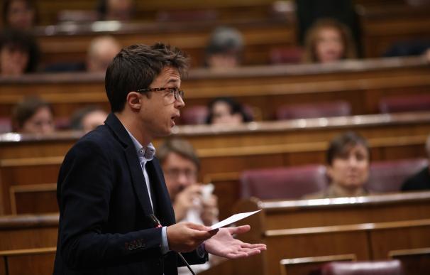 """Errejón celebra que a la Justicia """"se haya hecho respetar"""" y haga a Rajoy """"cruzar"""" la calle Génova para declarar"""