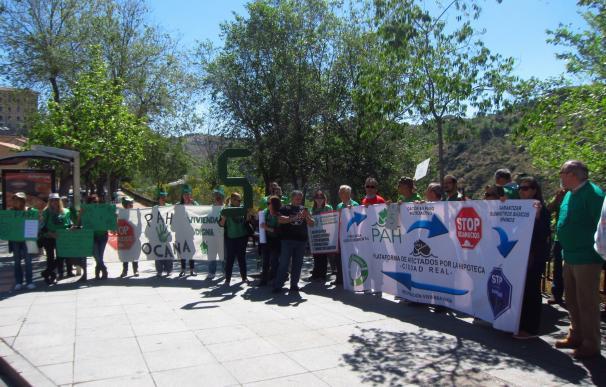 """La PAH protesta mañana ante el Ayuntamiento contra la """"violación"""" de los DDHH de los desahuciados"""