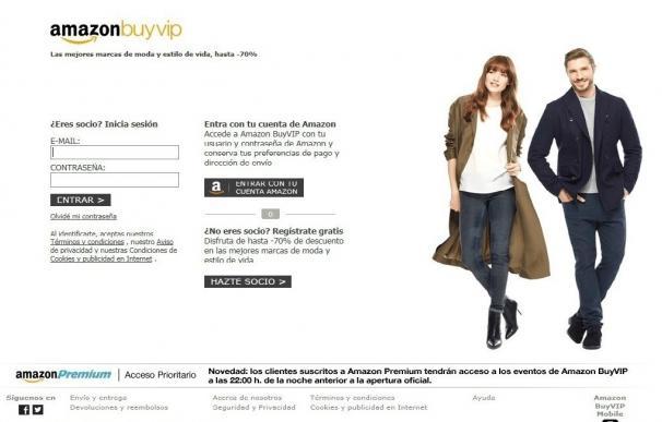 Amazon cierra este miércoles la plataforma de compras BuyVip