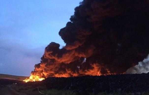 C-LM distingue a miembros de Protección Civil que participaron en el incendio de Seseña y Chiloeches