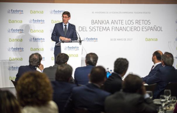 "Goirigolzarri ve ""lógica"" pero ""bastante lejos"" una concentración bancaria a nivel europeo"