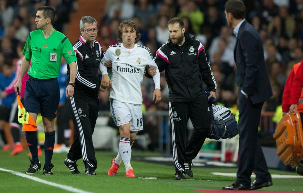 Modric, gran ausencia para el Real Madrid en las semifinales.