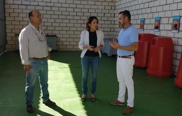 El Punto Limpio de Villanueva del Rey gestionará más de 45.000 kilos de residuos y enseres