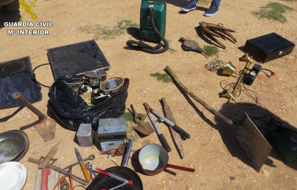 Un detenido por robar en dos corrales destinados a labores agrícolas en Las Pedroñeras (Cuenca)