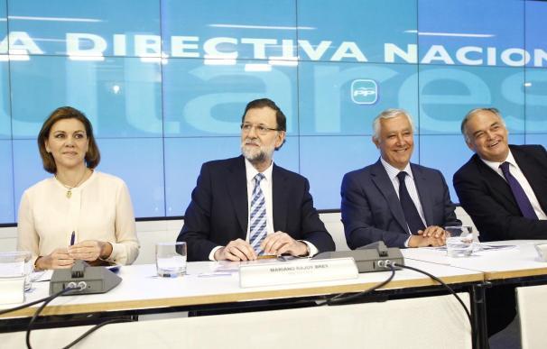 La mayoría de los 'barones' del PP acuden a la Junta Directiva del PP en la que Rajoy busca una imagen de unidad