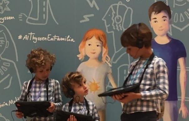 El Thyssen-Bornemisza estrena nueva Guía Multimedia Familiar para las visitas al museo
