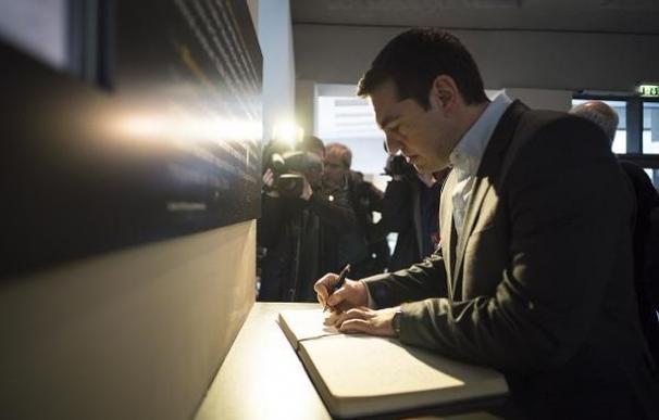 El primer ministro de Grecia, Alexis Tsipras, durante una visita a Alemania.