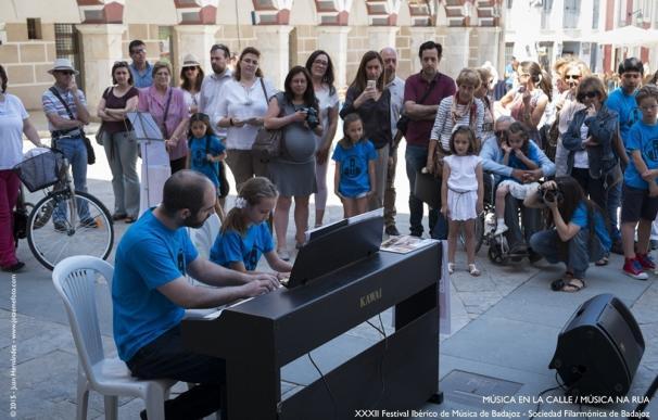 El Festival Ibérico de Música programa este fin de semana en Badajoz recitales de música antigua o para niños y familias