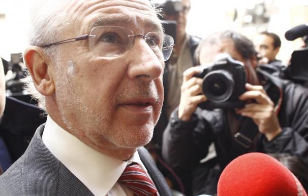 El exvicepresidente económico, Rodrigo Rato.