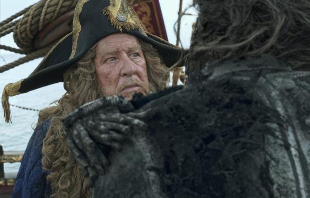 """Geoffrey Rush llega a los cines con 'Piratas del Caribe': """"En esta profesión todo es impredecible"""""""
