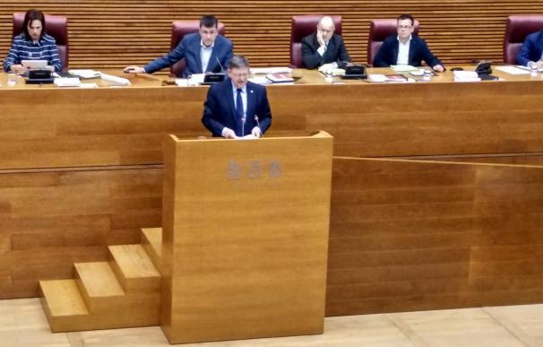 """Ximo Puig advierte de que irá al Supremo si el Consejo de Ministros acuerda un reparto del déficit """"arbitrario"""""""