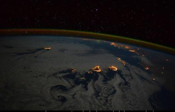 Una astronauta italiana fotografía Canarias desde la Estación Espacial Internacional