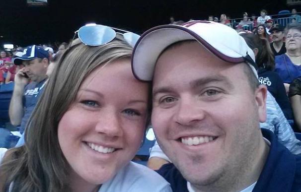 Adam Ward, asesinado a tiros en directo este miércoles, y su prometida Melissa Ott