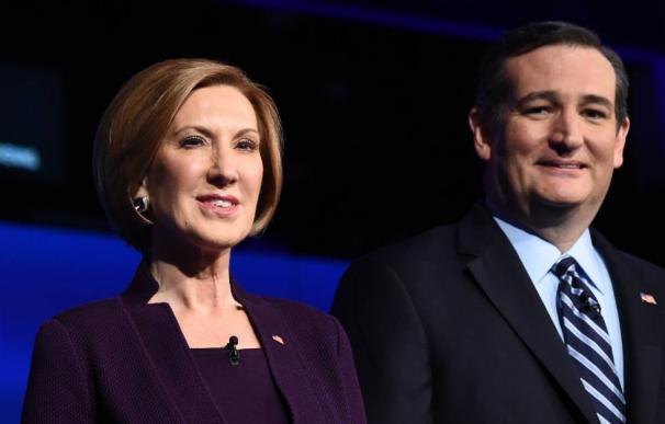 Cruz elige a Carly Fiorina como compañera de ruta para detener a Trump