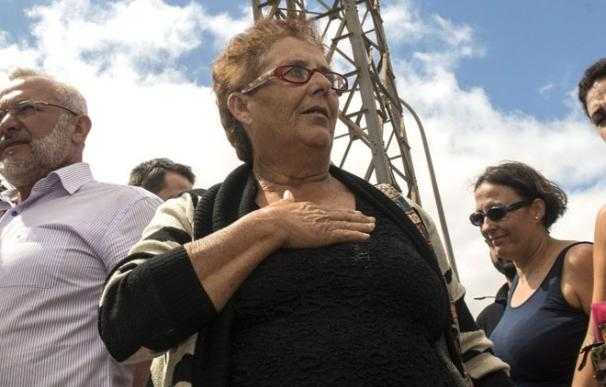 """La hija de Josefa Hernández pide al Gobierno que se """"de prisa"""" para que su madre salga de prisión"""