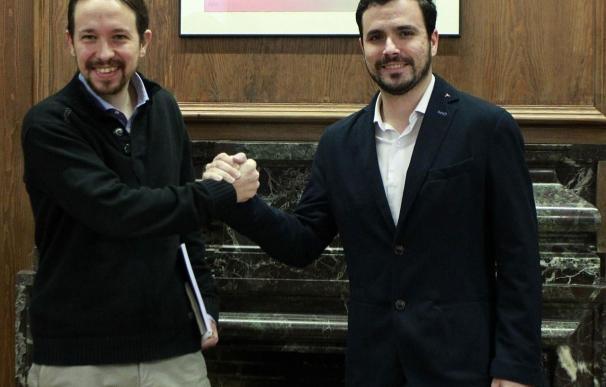 """Pablo Iglesias cree que es """"buena noticia"""" que la Presidencia Federal de IU respalde abrir la negociación con Podemos"""