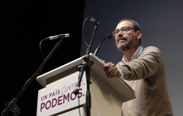 El cabeza de lista de Podemos por Málaga quiere repetir pero aceptará el puesto que le toque