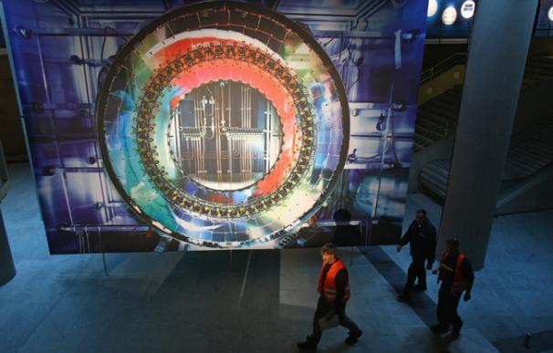 Interiror del LHC. Imagen: Sean Gallup (Getty)