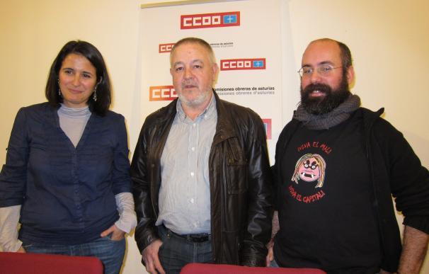 """CCOO ve """"preocupante"""" la estadística de desempleados en Asturias"""
