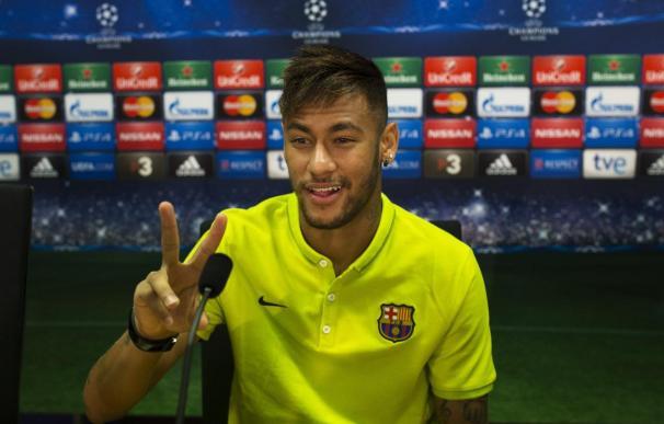 """Neymar dice que se siente """"como en casa"""" y """"feliz"""""""