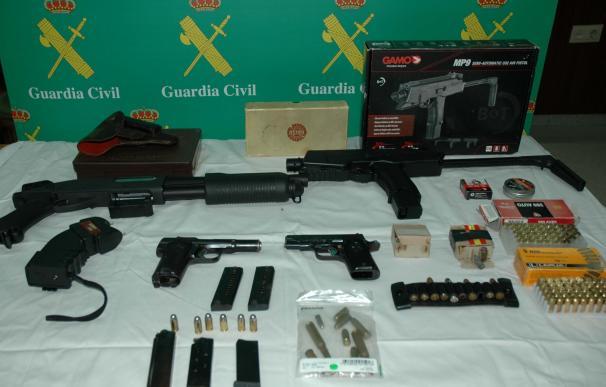 Detenido acusado de vender armas sin documentación a través de una página web de anuncios