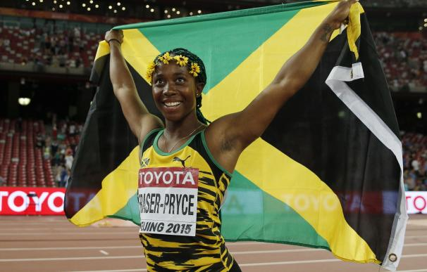 Fraser-Pryce se cuelga el oro en los 100 metros y reafirma el dominio de Jamaica