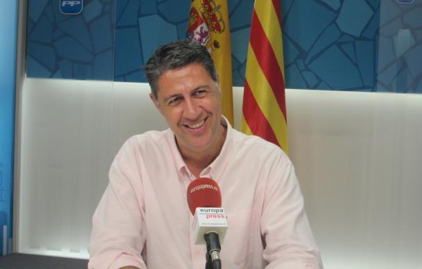El candidato del PP a la Presidencia de la Generalitat, Xavier García Albiol.