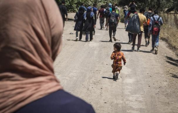 Grecia.- Casi 10.000 inmigrantes han llegado esta semana a la isla griega de Lesbos