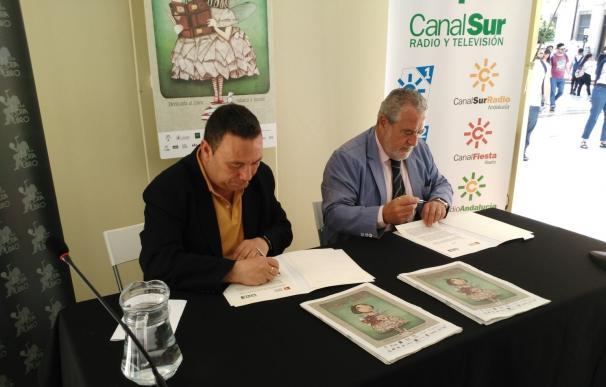 Canal Sur Radio y Televisión firma un convenio con la Federación Andaluza de Libreros para promover el sector