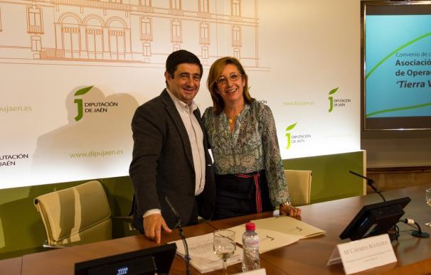 Diputación y Tierra Verde colaborarán para fomentar la agricultura ecológica