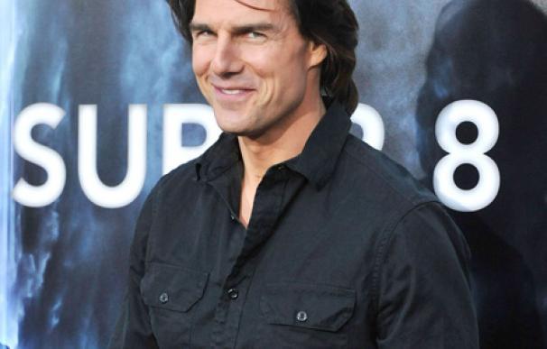 Tom Cruise toma un baño de hielo para relajarse