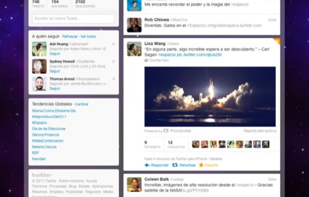Twitter rediseña su interfaz y añade recomendación personalizada de historias