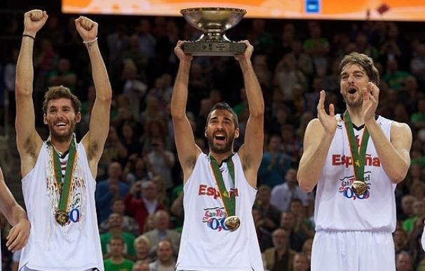 Los hermanos Gasol y Navarro, nominados a 'Mejor Jugador Europeo FIBA 2011'
