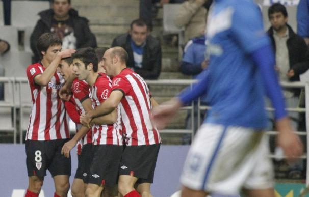 El Athletic encarrila eliminatoria ante el Oviedo pero no la resuelve