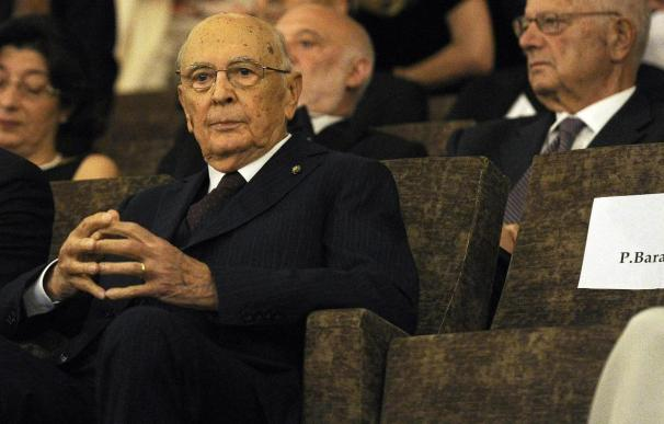 """Italia """"ni confirma ni desmiente"""" la hipotética renuncia de Napolitano"""