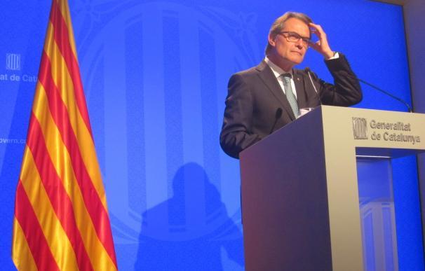 27S.- Artur Mas prevé comparecer ante el Parlament el 2 de septiembre por la tarde