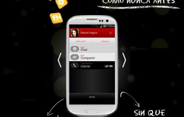 (Amp) Movistar, Orange y Vodafone lanzan en España 'joyn', conocido como el 'WhatsApp' de los operadores