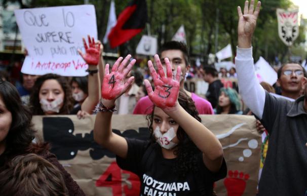 """Los padres de los desaparecidos en México, """"más fuertes que nunca"""" en su lucha"""