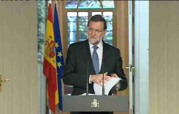 Rajoy anuncia que 2015 será el año del despegue de la economía