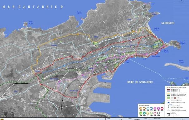 Ayuntamiento plantea una Red de Itinerarios Ciclistas con 5 rutas y 55 km de recorrido, la mitad hecha