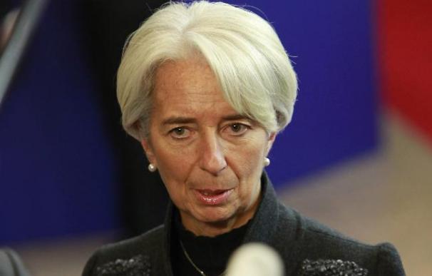 La directora del FMI afirma que Europa necesita ayuda de todos para resolver la crisis