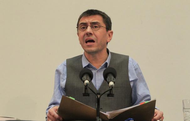 El que fuera secretario del Proceso Constituyente y Programa de Podemos, Juan Carlos Monedero.