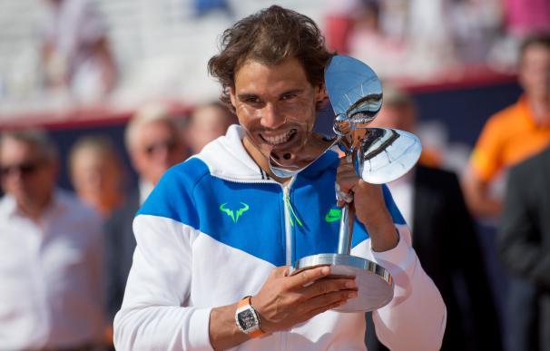 Ganó su tercer título de la temporada en Hamburgo.