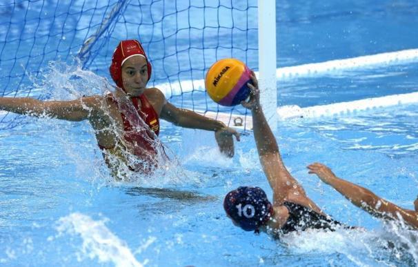 La selección femenina de Weterpolo, eliminada en cuartos de final ante Estados Unidos