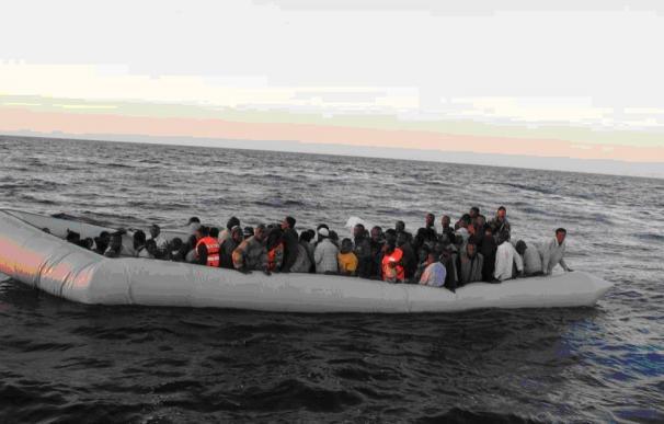 Buque de la Guardia Civil en Frontex