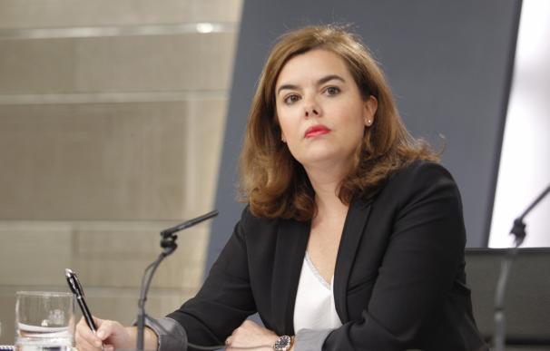 """Santamaría pide a Mas respetar la """"neutralidad"""" como presidente en funciones y avisa que el Gobierno estará """"vigilante"""""""
