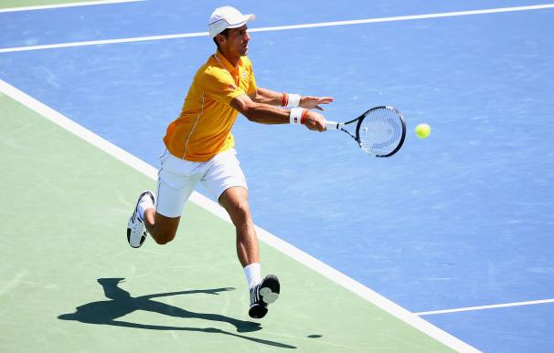 CINCINNATI, OH - AUGUST 22: Novak Djokovic of Serb
