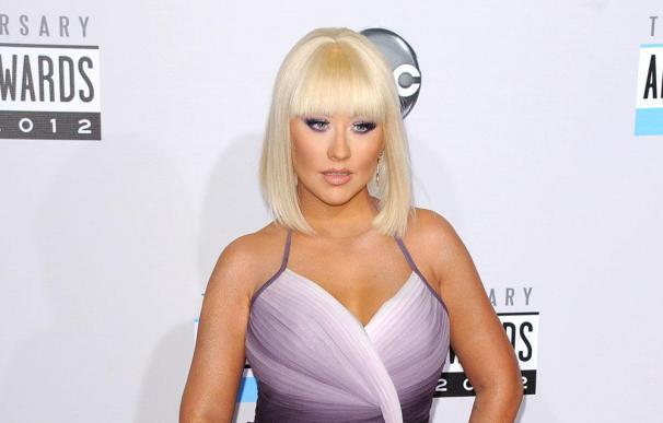 Christina Aguilera adora pasear con su novio